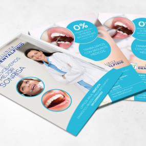 Flyers promocionales DentalFisio