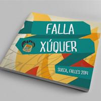 Libro Falla Xúquer 2014