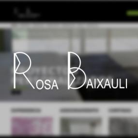 Diseño web rosabaixauli.es